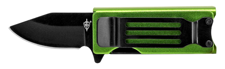 2.63 in Lighter Holder and Pocket Knife Combo - Green