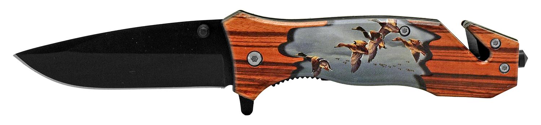 4.5 in Outdoorsman Rescue Folding Pocket Knife - Duck