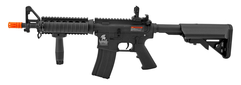 Lancer Tactical Full Metal AR-15 Style M4 AEG Airsoft Assault Rifle - Black