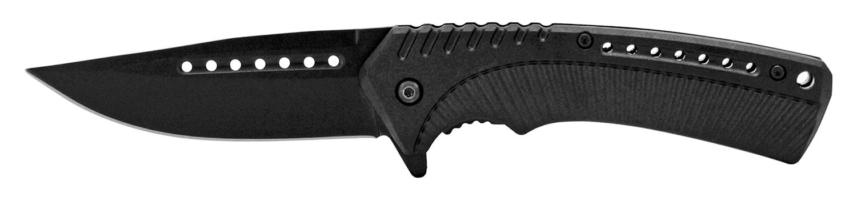 4.75 in Traditional Hunting Folding Pocket Knife - Black