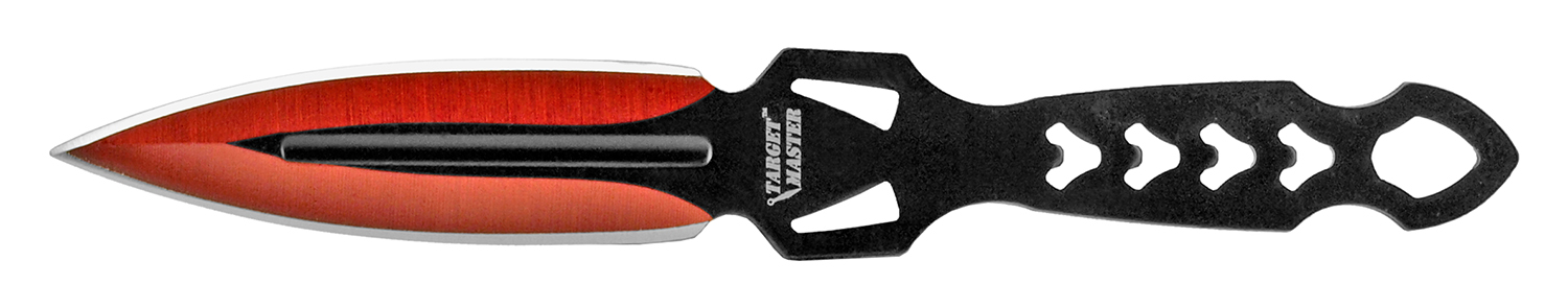 6.13 in Galaxa Throwing Knives Set - Red