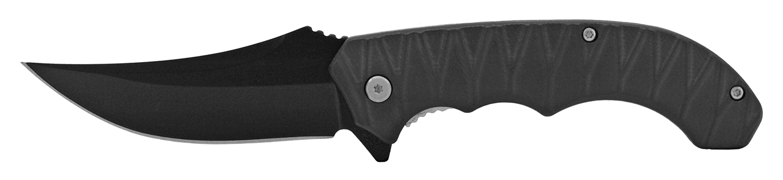 5 in Grip Tight Carving Folding Pocket Knife - Black