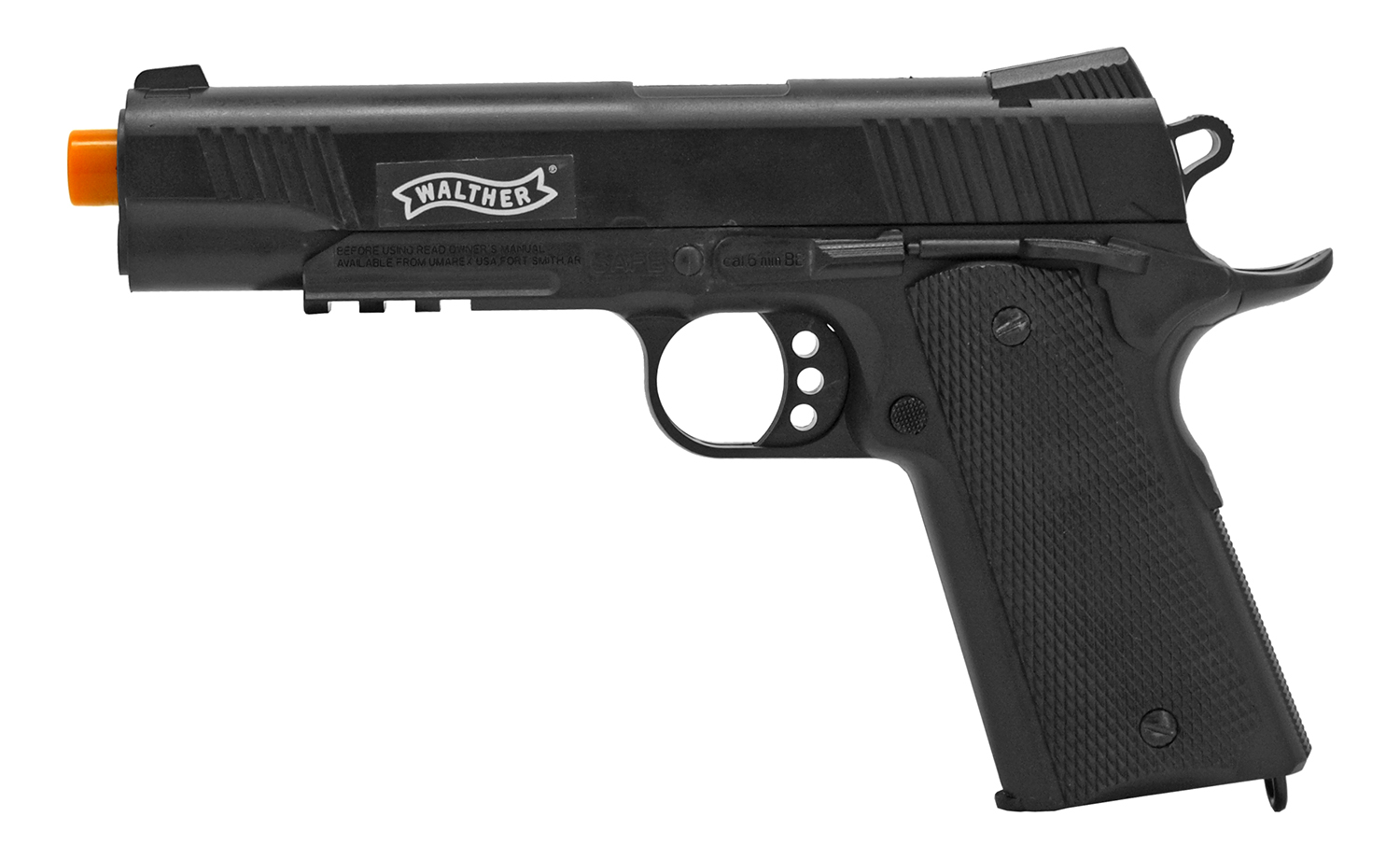 Official Walther Replica Spring Powered Airsoft Pistol - Black
