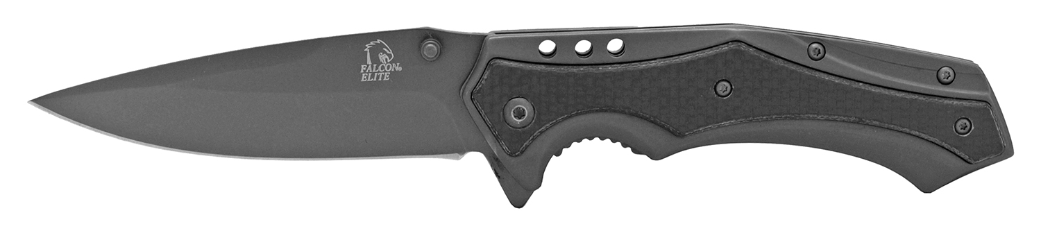 4.75 in Stainless Steel Elite Pocket Knife - Gun Metal