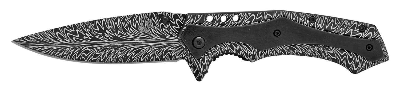 4.75 in Stainless Steel Elite Pocket Knife - Blade Burst
