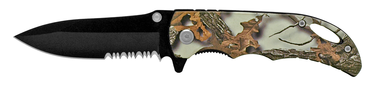 4 in Hunter's Pocket Knife - Snow Camo