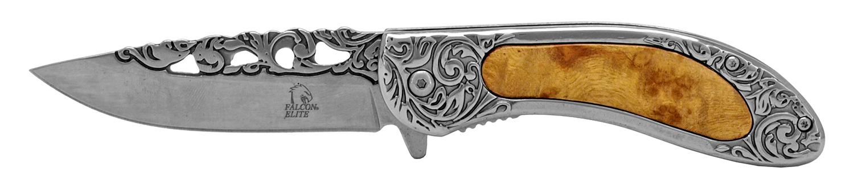 4.63 in Stainless Steel Pocket Knife - Chrome