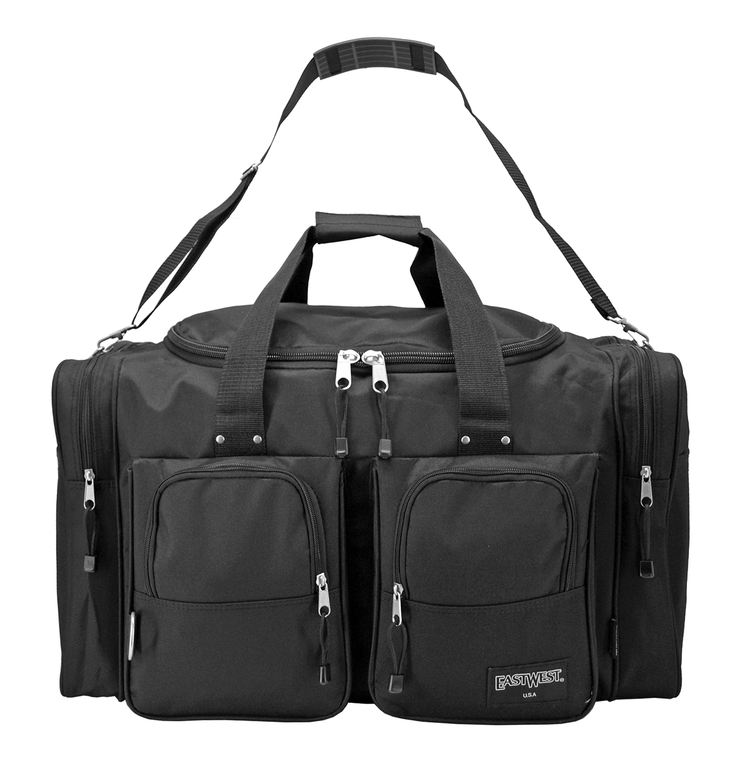 The Large Standard Duffle Bag - Black