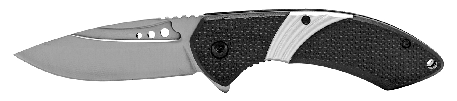 4.5 in Stainless Steel Traditional Pocket Knife - Silver