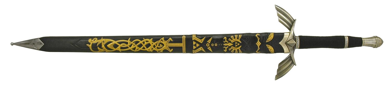 43.25 in Zelda Game Sword - Black