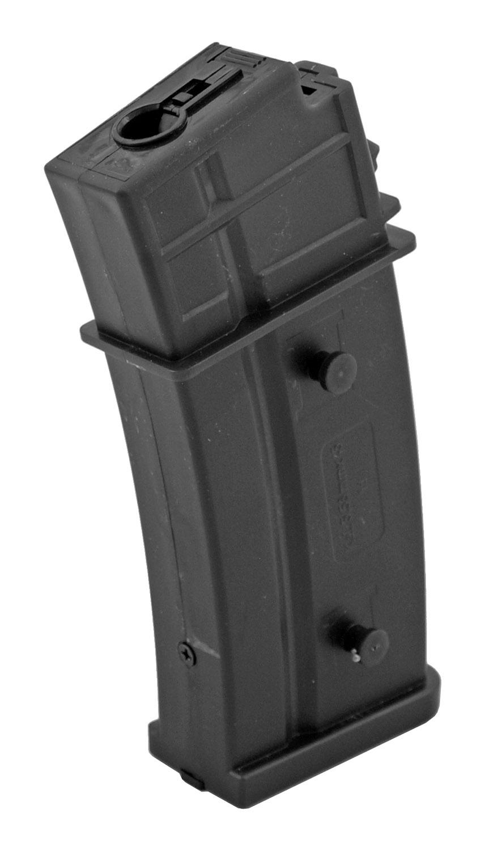 Black Bear Airsoft R36 360 Round High Capacity Magazine Flash Mag - Black - BBA-FLH-G36