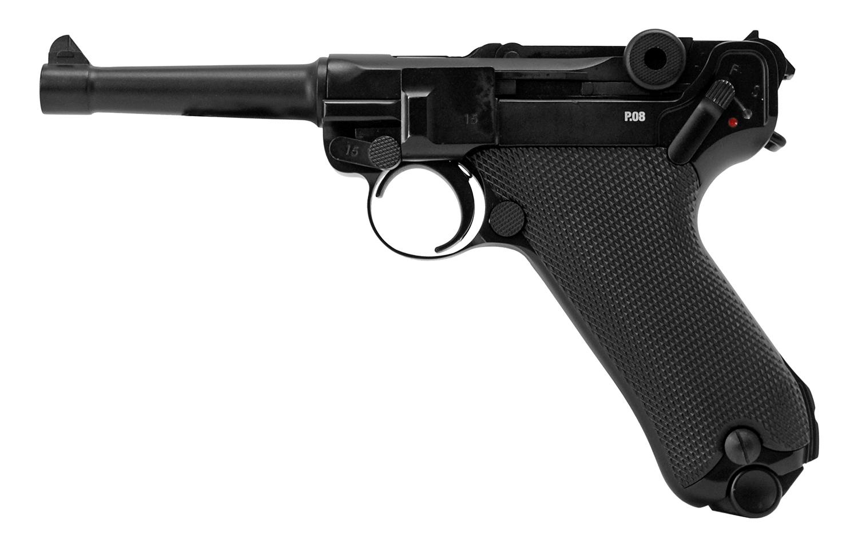 Legends Luger P-08 Blowback .177 Cal. Pistol BB Gun - Refurbished