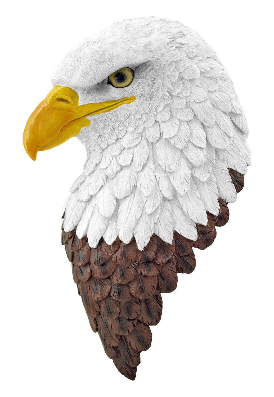 Hero American Bald Eagle Patriotic Wall Mount Bust - DWK