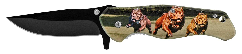 4.75 in Stainless Steel Pocket Knife - Pitbull