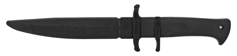 12 in Fighting Practice Knife - Black