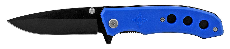 4 in Spring Assisted Folding Pocket Knife - Royal Blue