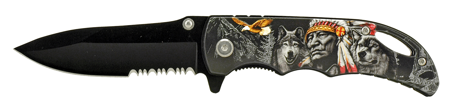 4 in Traditional Pocket Knife - Chief