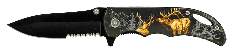 4 in Traditional Pocket Knife - Deer