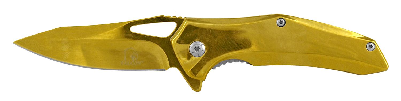3.75 in Carving Pocket Knife - Gold