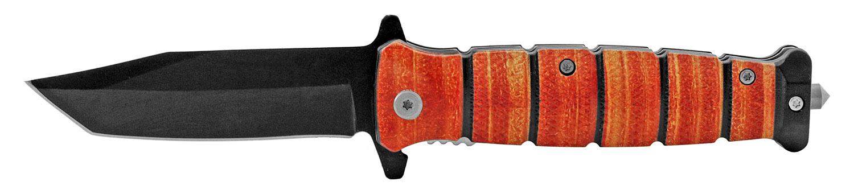 4.75 in Military Tactical Folding Pocket Knife - Hunting Orange