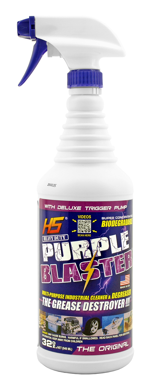 32 oz. Purple Blaster Biodegradable Multi-Purpose Cleaner and Degreaser