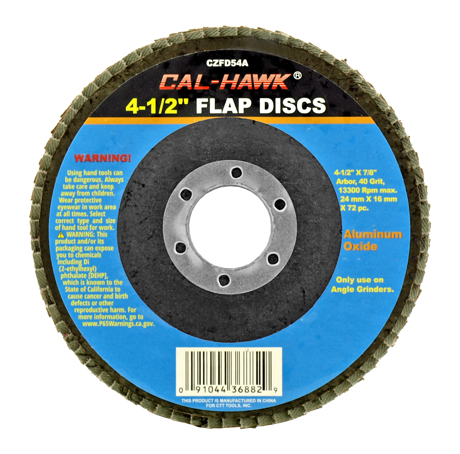 4-1/2 in Flap Disc - 40 Grit