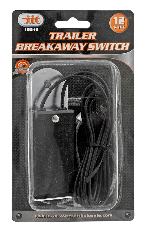 Towing Trailer Breakaway Switch Electrical Emergency Relay - IIT 16646