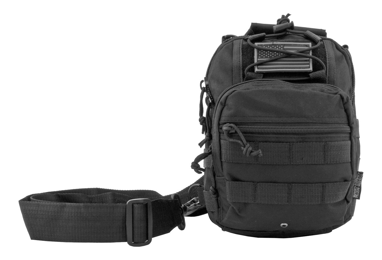 Concealed Carry Tactical Sling Bag - Black