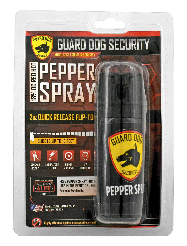 Guard Dog Security Flip Top Quick Release Pepper Spray Fogger - 2 oz.
