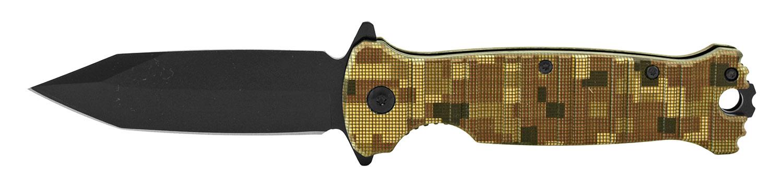 4.5 in Classic Folding Pocket Knife - Desert Digital Camo