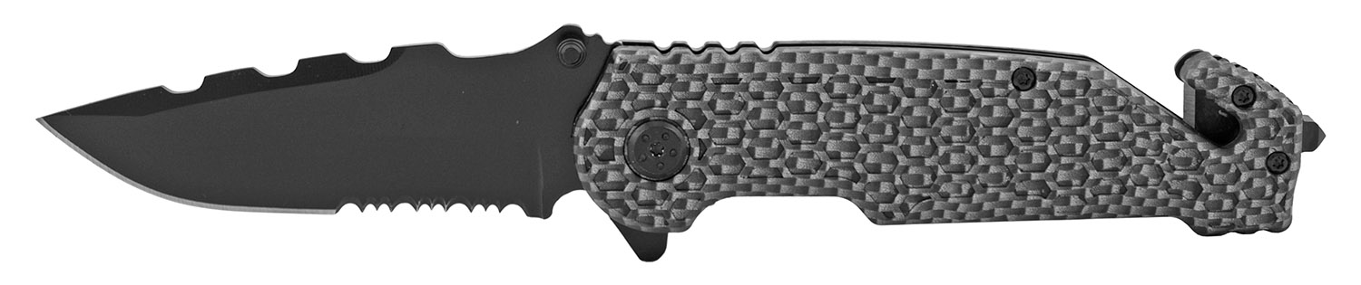 4.75 in Standard Hunting Pocket Folding Knife - Carbon Fiber