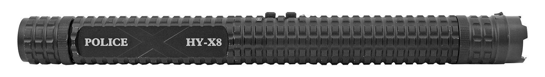13.75 in Baton Style Police Grade Baton Stun Gun Flashlight with Hip Holster - HY-X8