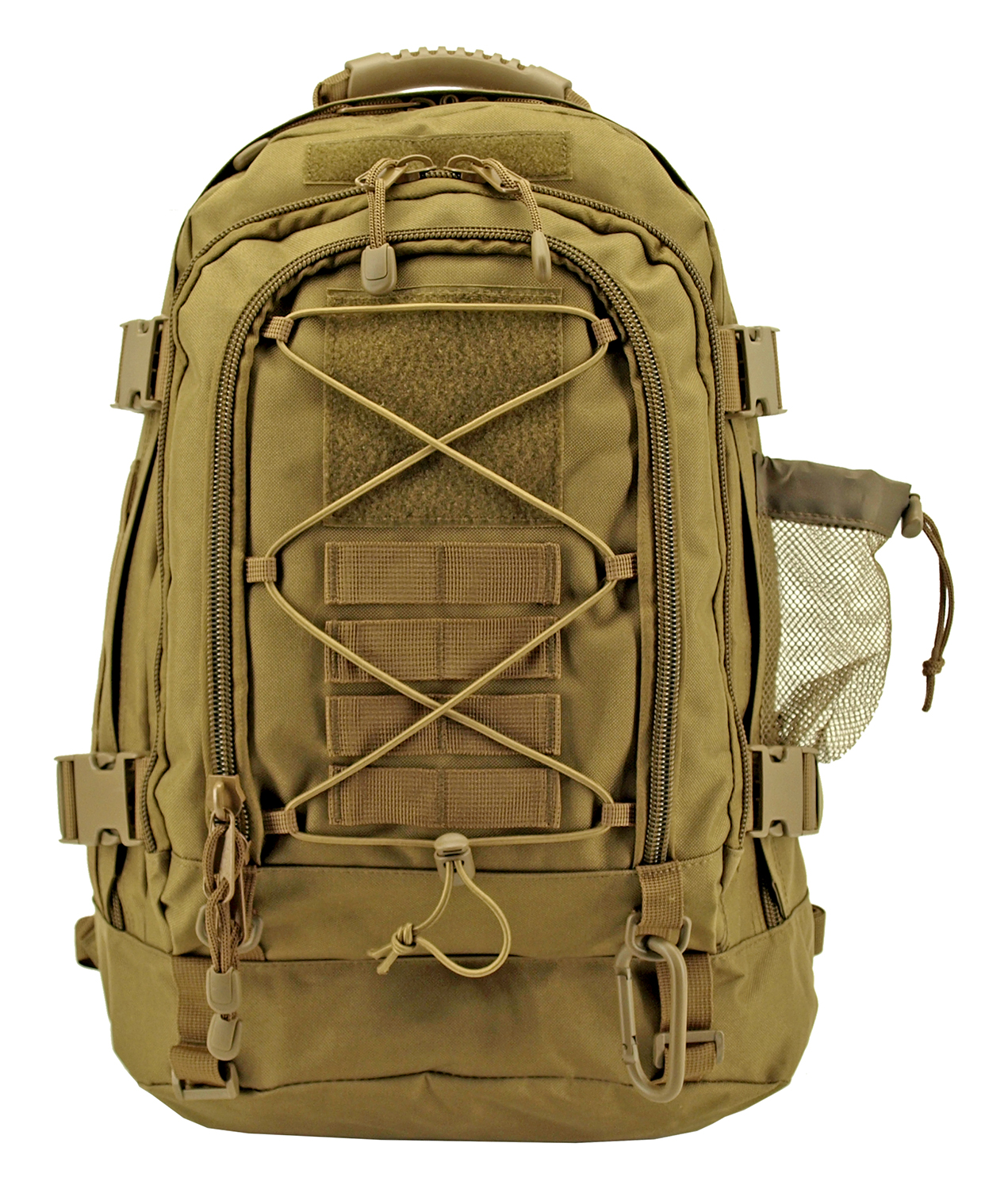 Expandable Tactical Elite Backpack - Desert Tan