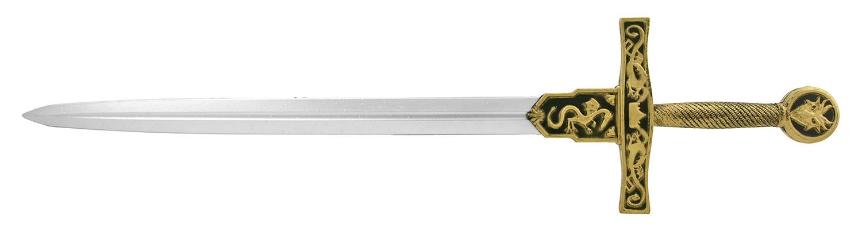 39.25 in Fantasy King Arthur Excalibur Cosplay Medieval Knight Foam Jousting Sword