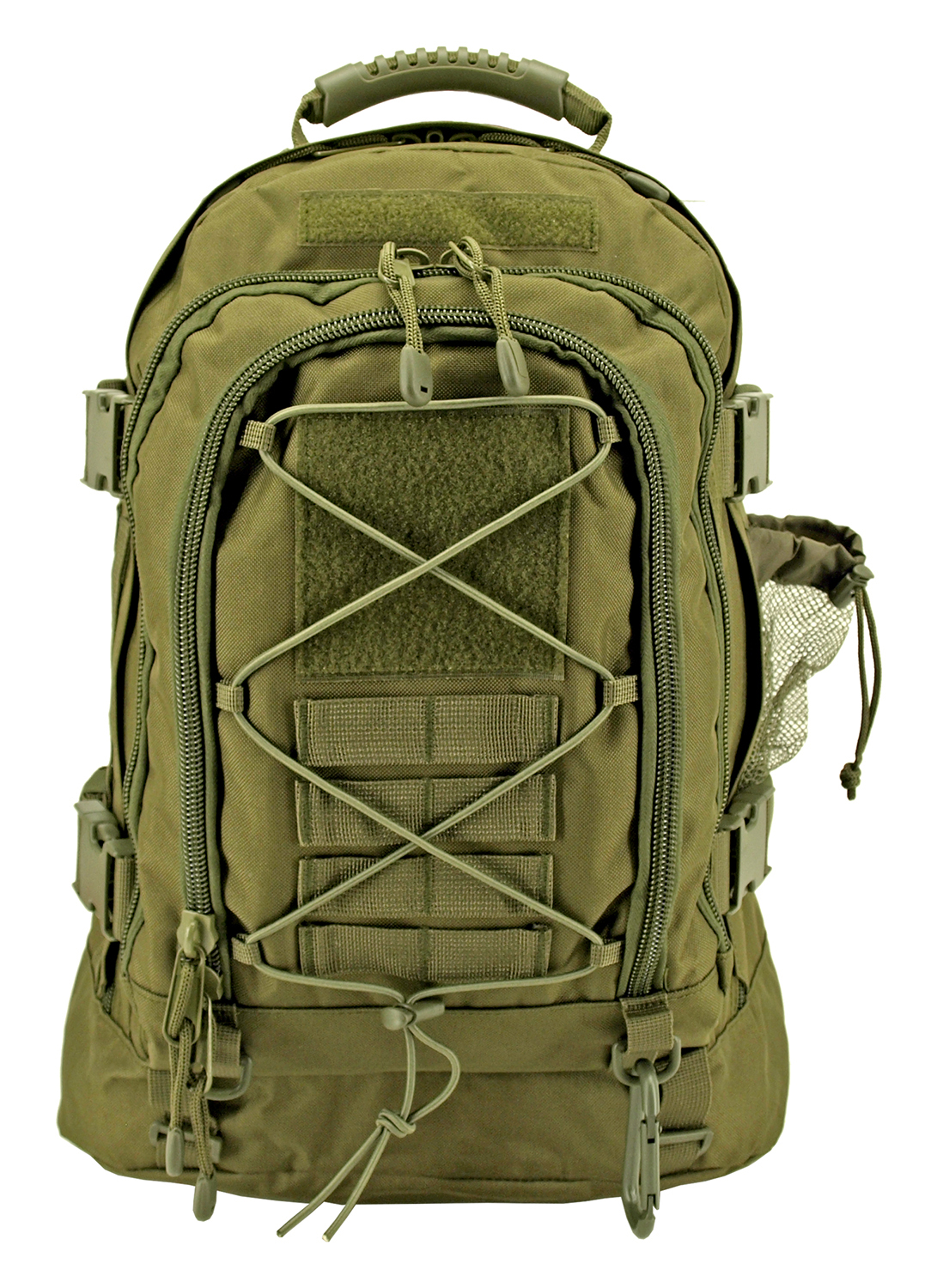 Expandable Tactical Elite Backpack - Olive Green