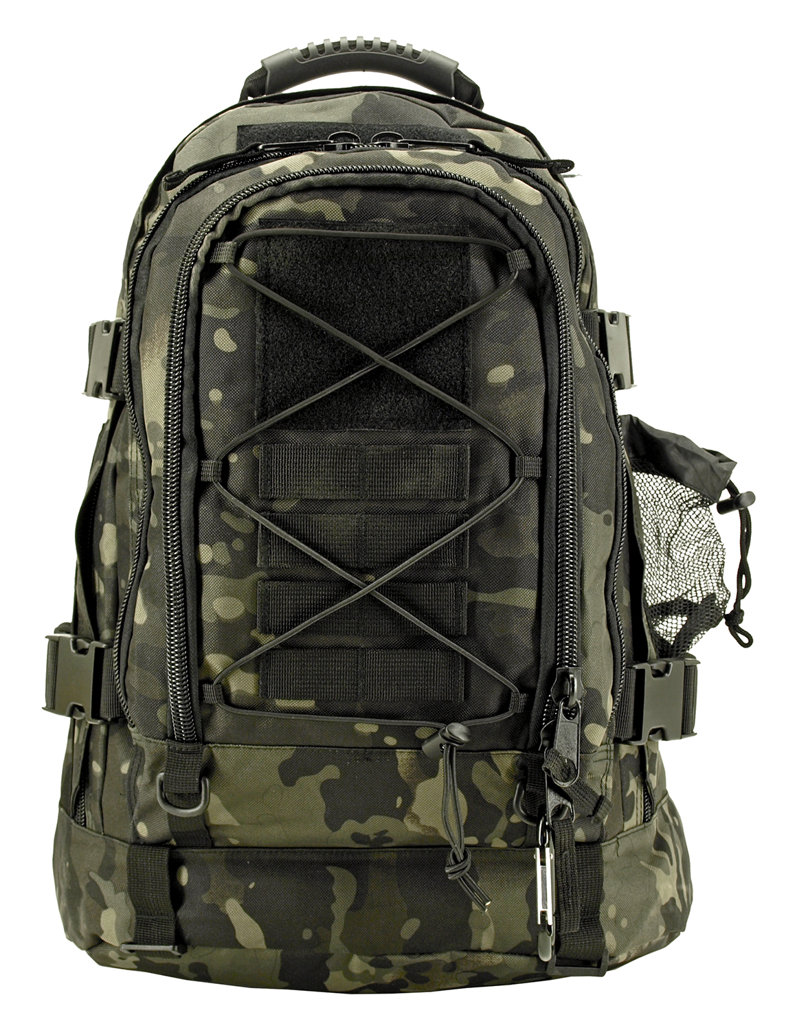 Expandable Tactical Elite Backpack - Black Multi-cam