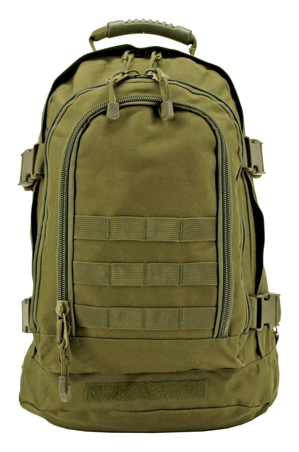 Expandable Tactical Backpack - Olive Green