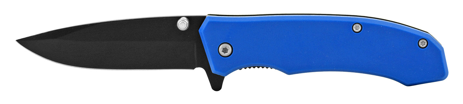 4 in Classic Style Folding Pocket Knife - Blue