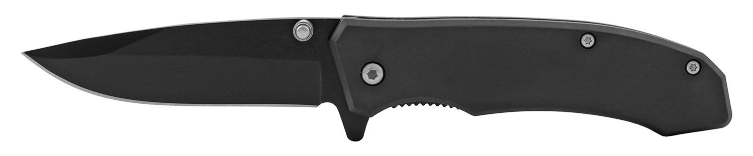 4 in Classic Style Folding Pocket Knife - Black