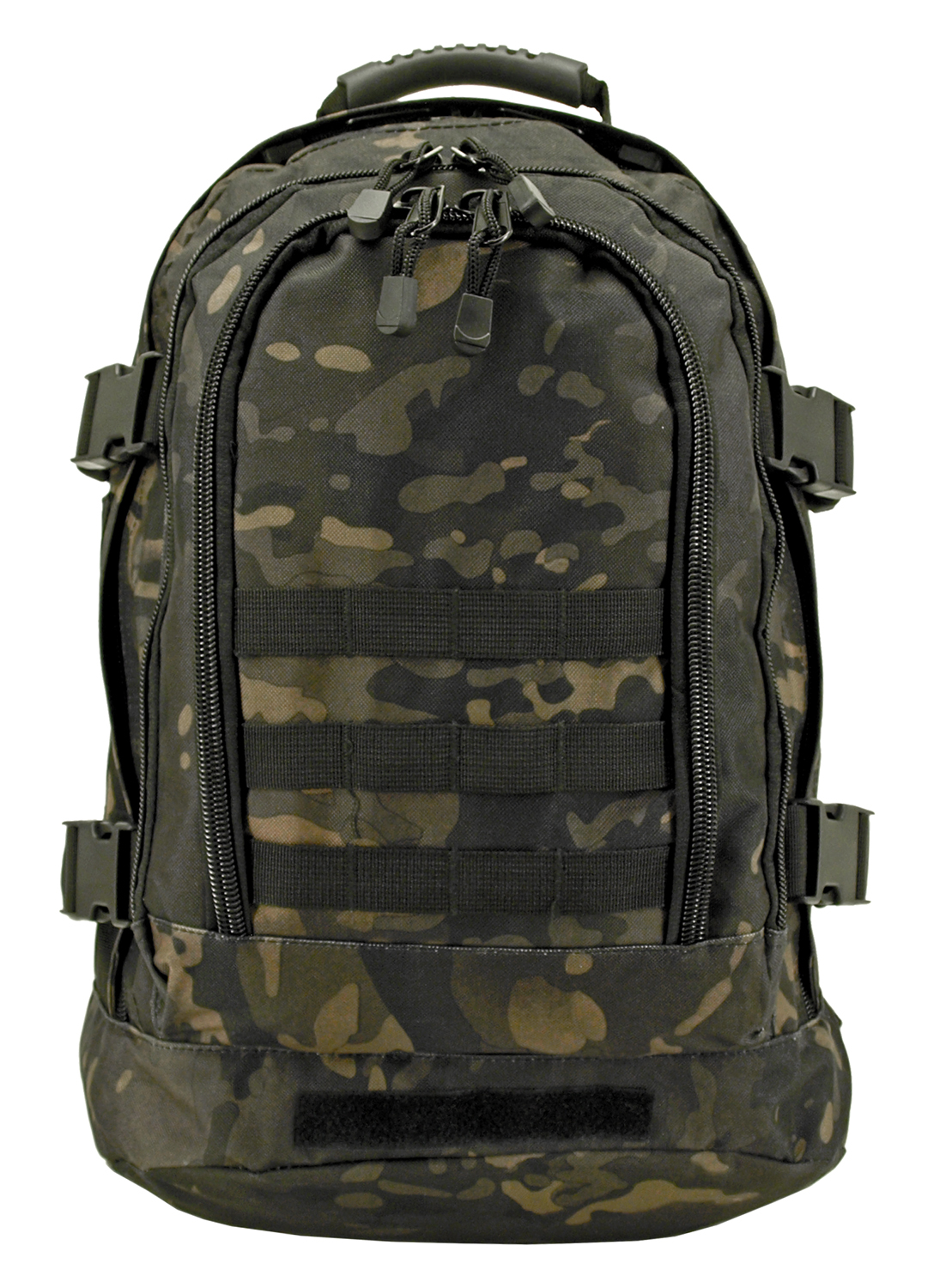 Expandable Tactical Backpack - Black Multi-Cam