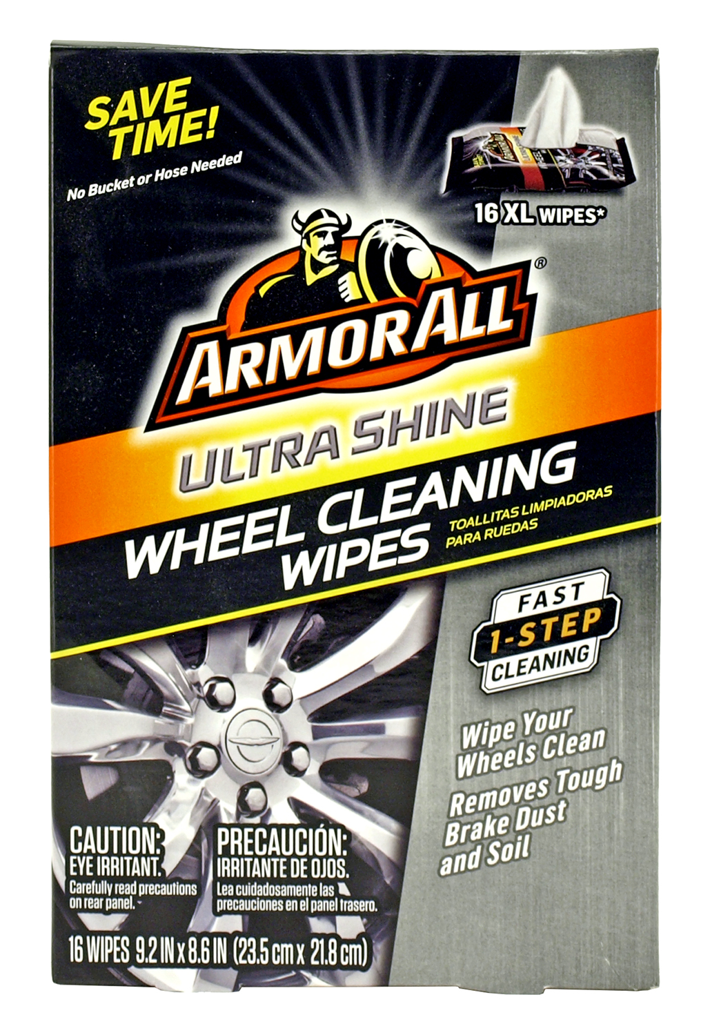 Armor All Ultra Shine Wheel Cleaning Wipes