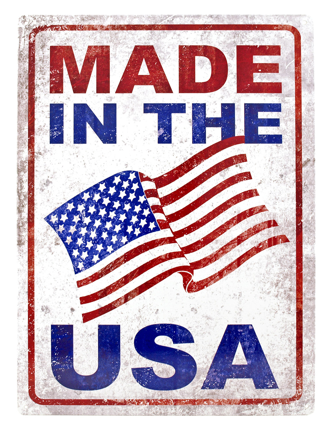 Made in the USA Metal Tin Sign