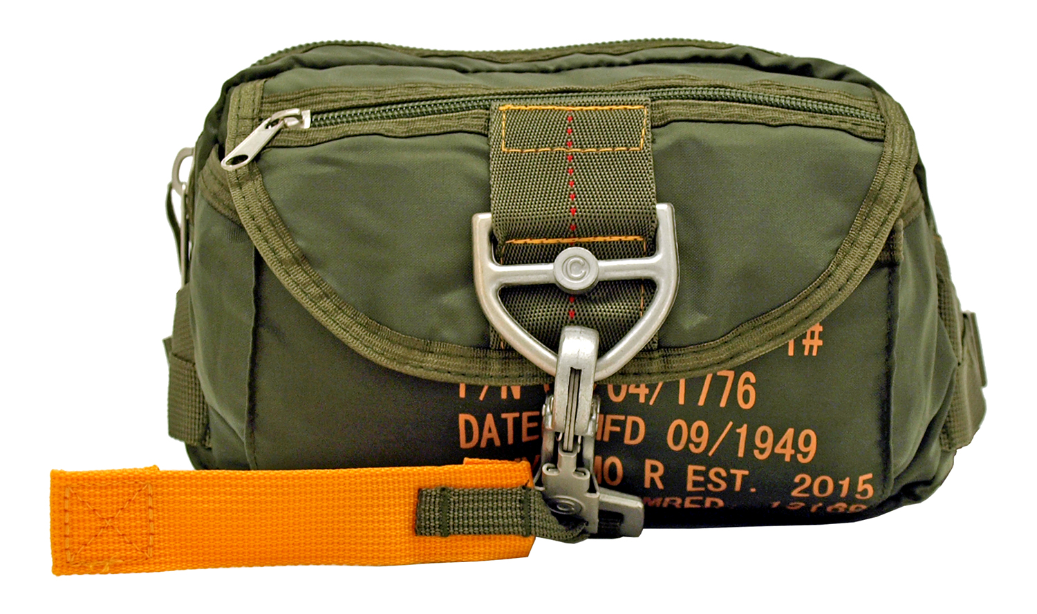 Tactical Parachute Fanny Pack - Olive Green