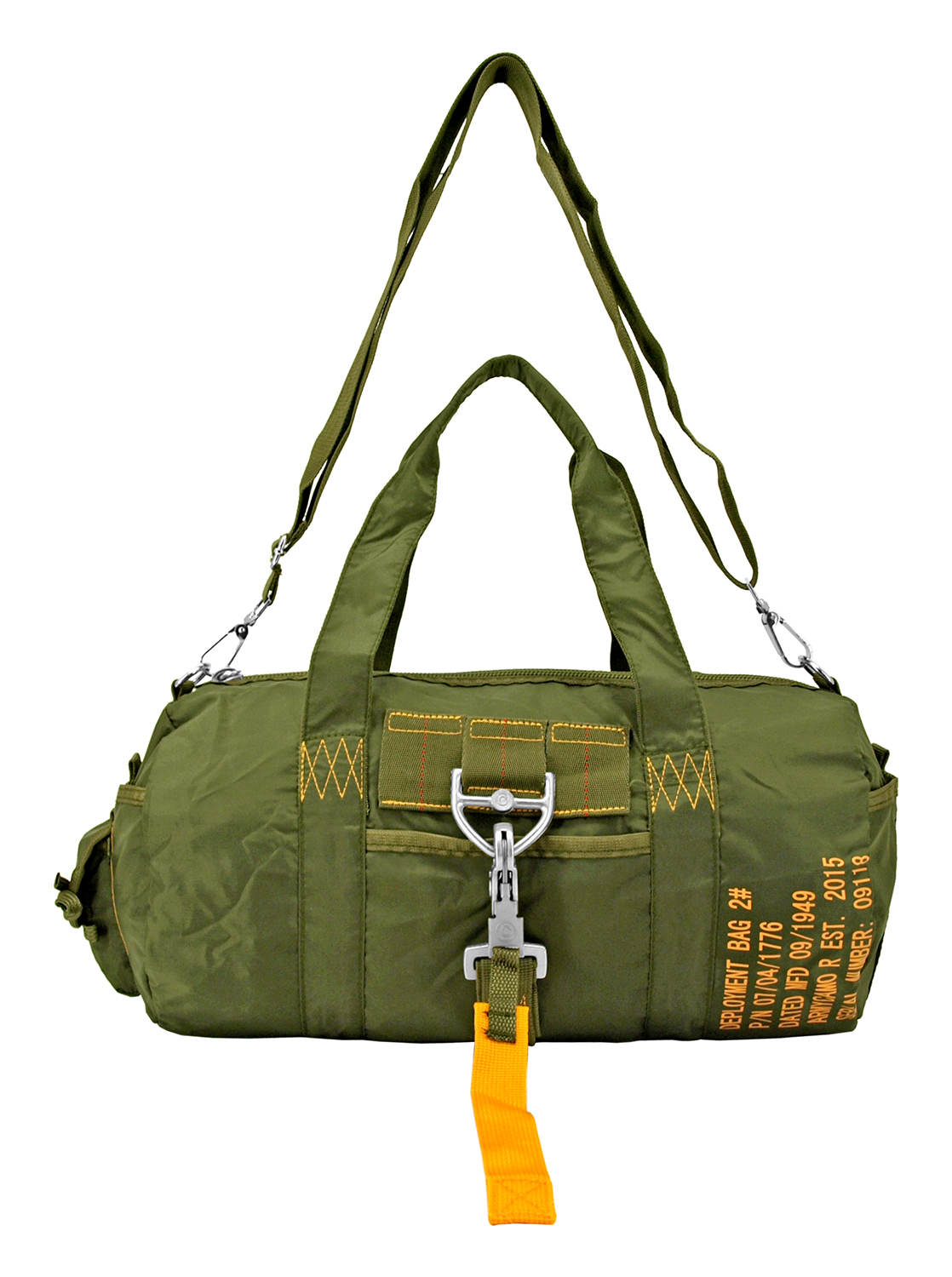 Tactical Parachute Duffle Bag - Olive Green