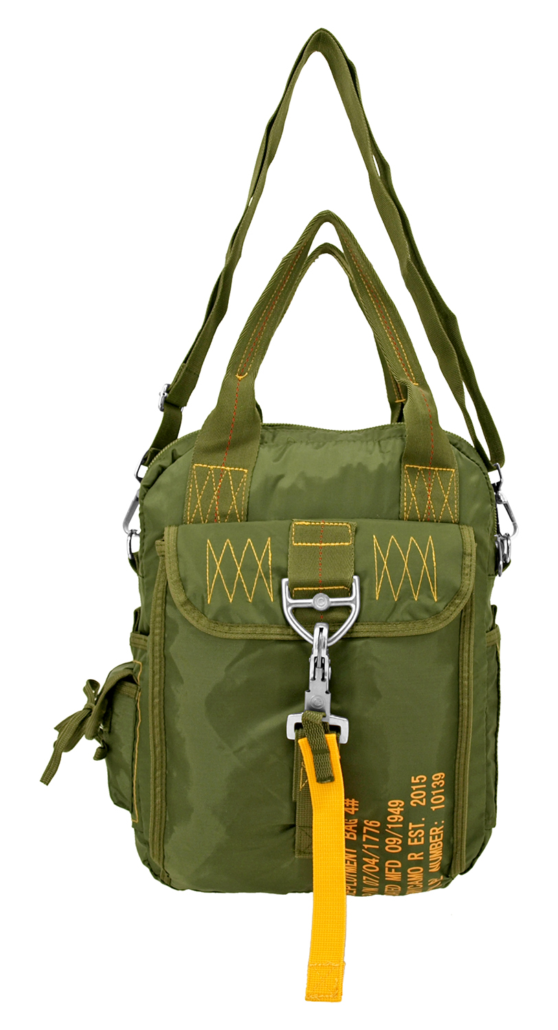 Tactical Parachute Side Pack - Olive Green