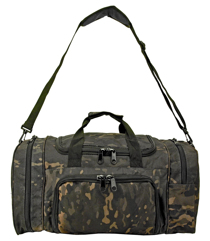 Tactical Duffle Bag - Black Multicam