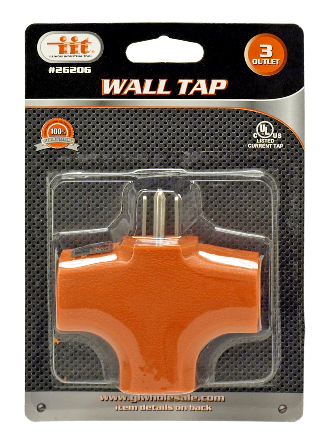 3 Outlet Wall Tap