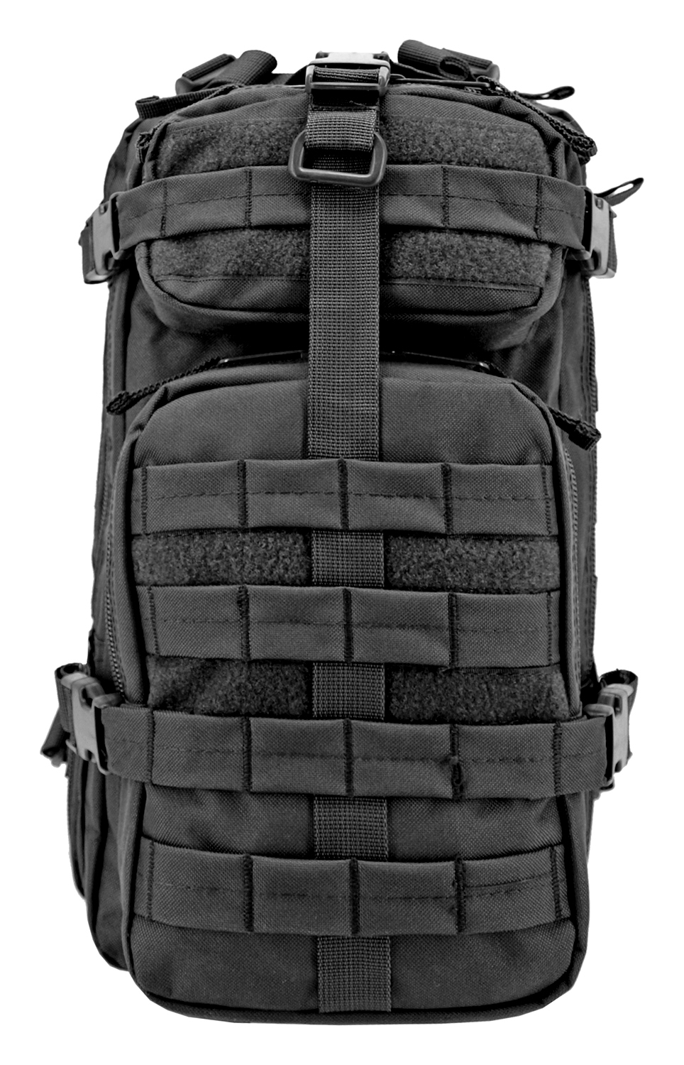 Tactical Assault Backpack - Black