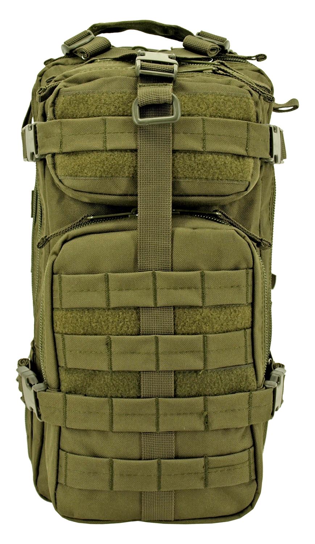 Tactical Assault Backpack - Olive Green