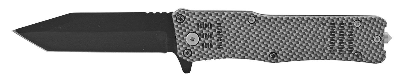 5 in Tactical Folding Pocket Knife with Glass Breaker - Carbon Fiber